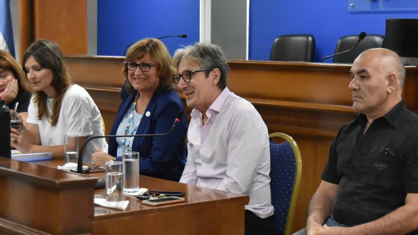 El presidente del IPRODICH José Lorenzo expone sobre Salud y Discapacidad en la Cámara de Diputados del Chaco