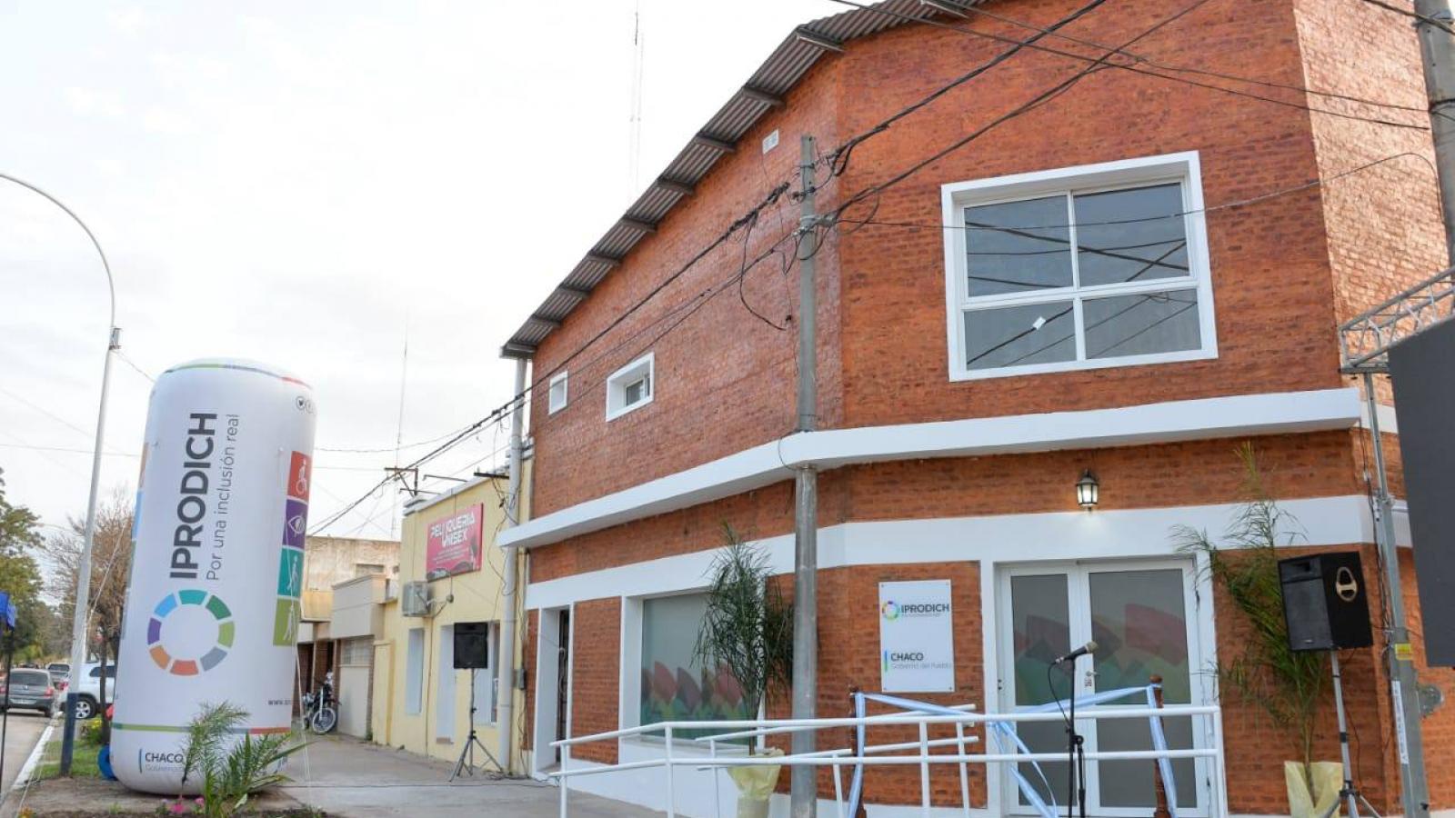 PEPPO INAUGURÓ EL NUEVO ESPACIO INSTITUCIONAL DE IPRODICH EN VILLA ÁNGELA