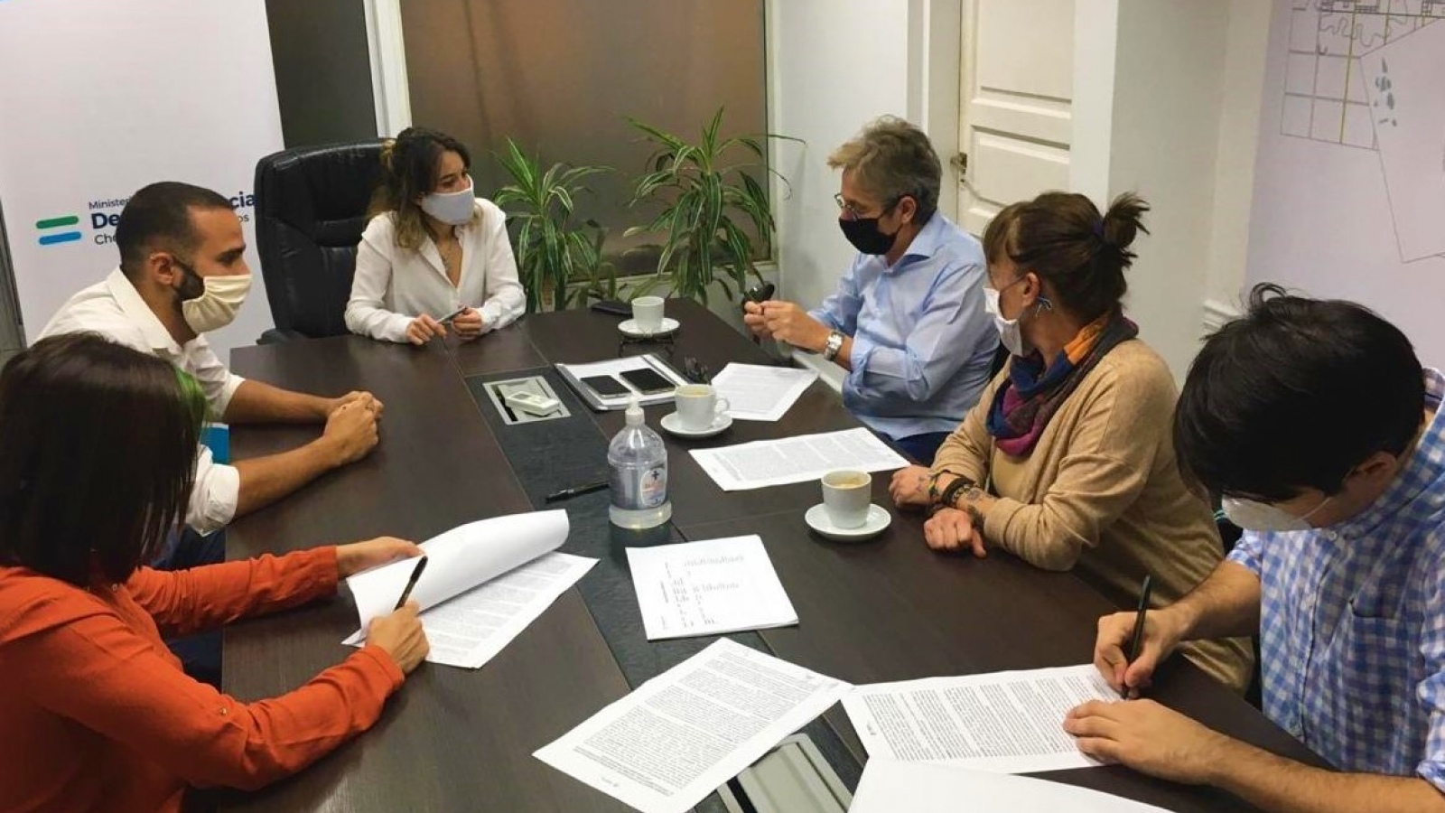 Firma convenio Desarrollo Social y Chaco Solidario