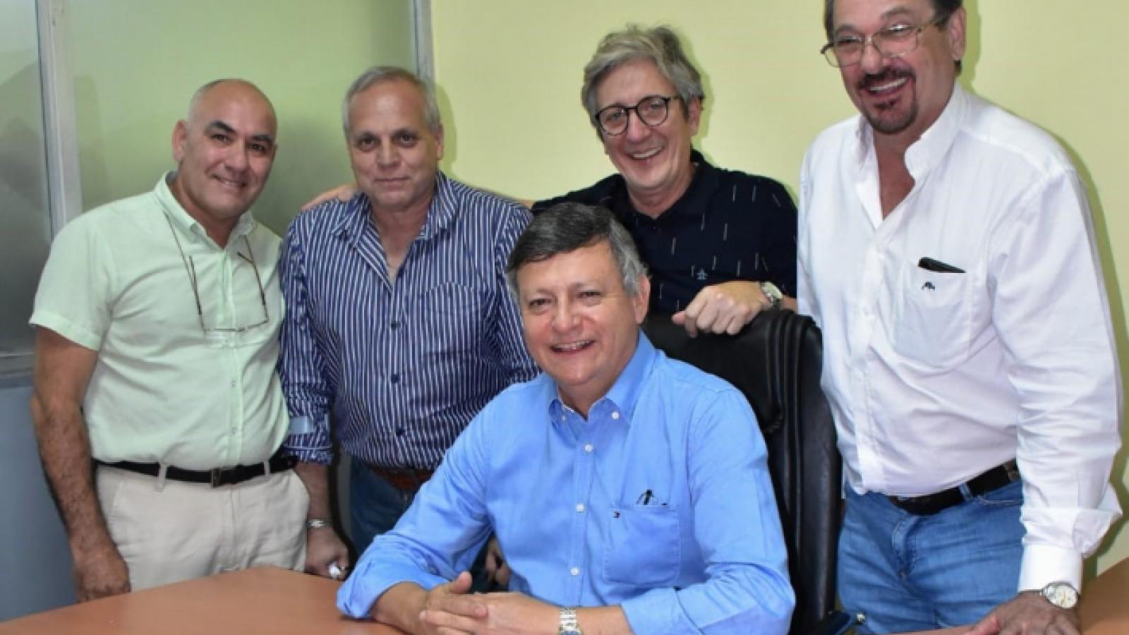 IPRODICH y el gobernador Peppo inauguraron oficina del organismo en Sáenz Peña