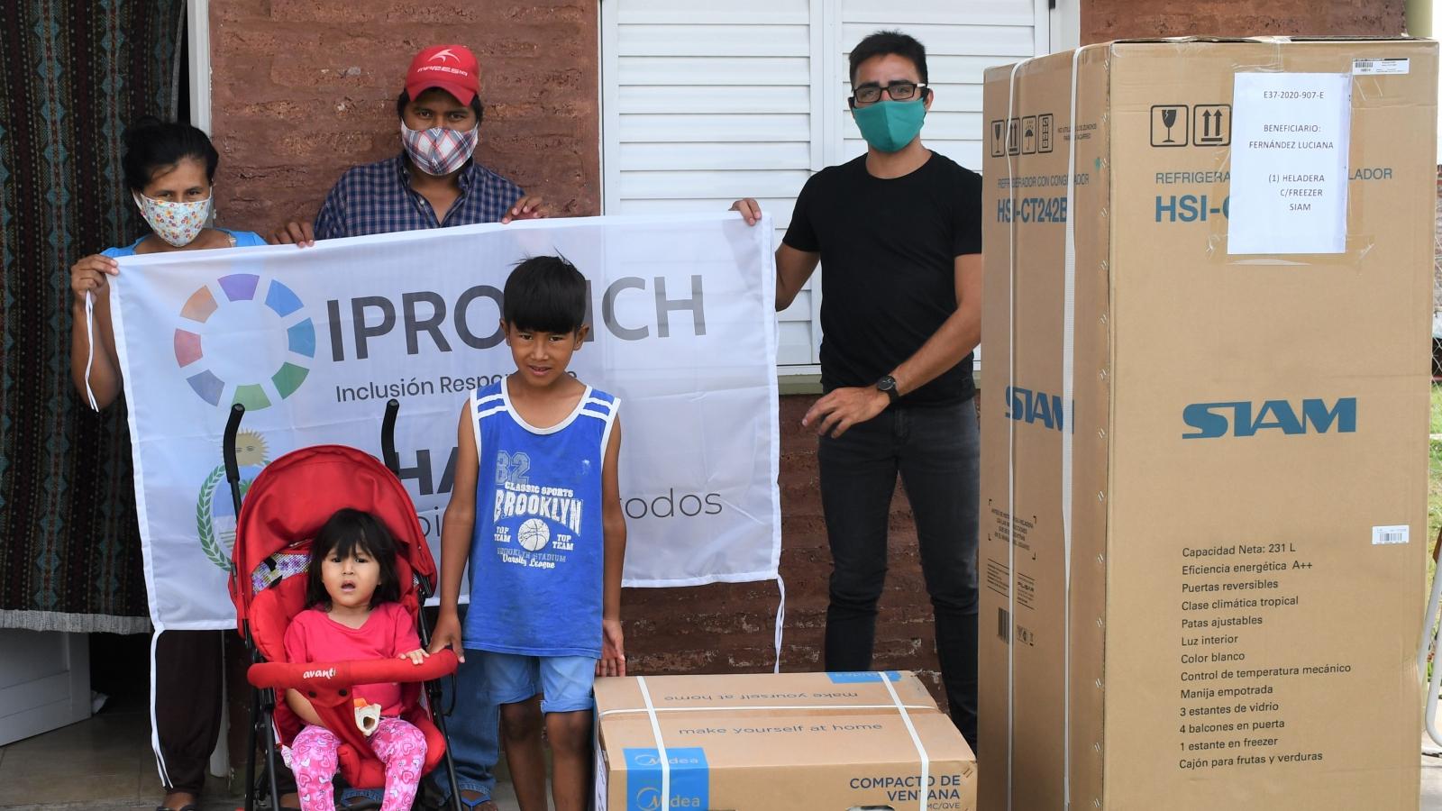 IPRODICH MEJORÓ LA CALIDAD DE VIDA DE PERSONAS CON DISCAPACIDAD DE RESISTENCIA, BARRANQUERAS Y CASTELLI